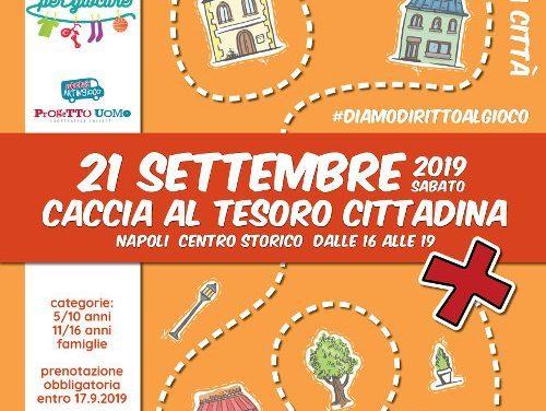 Caccia al Tesoro di Napoli il 21 settembre