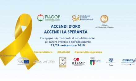 FISPES insieme a FIAGOP per la lotta al cancro pediatrico