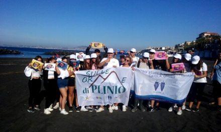 Torre del Greco partecipa al World Cleanup Day, insieme agli studenti del Pantaleo