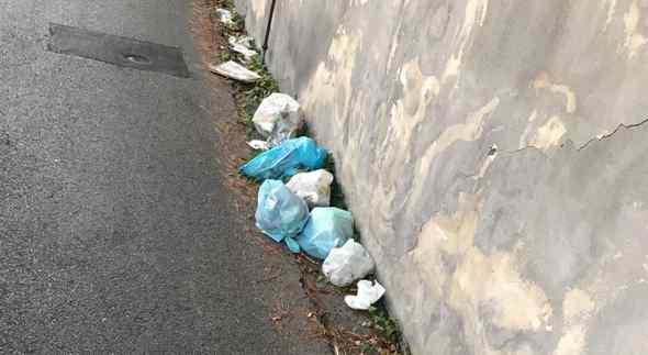 Questione rifiuti, Ecco la denuncia di una cittadina