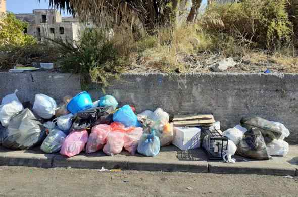 Raffolta rifiuti, Protesta da via San Gennariello