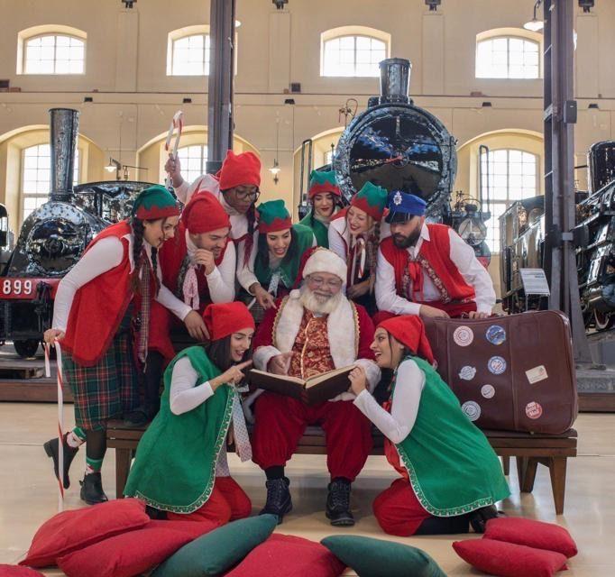 Portici, L'incanto di elfi e magici incantesimi ai mercatini di Natale di Pietrarsa 🗓