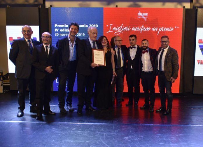 Il grande show dell'eccellenza. Premio Campania 2019