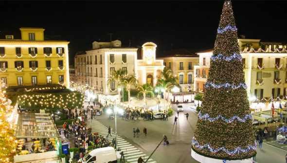 Natale 2019 a Sorrento con luminarie, spettacoli e mercatini 🗓