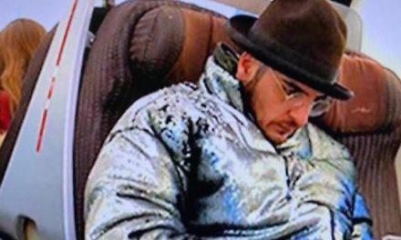 L'ex di Nina Moric, Luigi Mario Favoloso, scomparso da Torre del Greco è stato visto su un treno