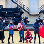 Portici, Carnevale viaggia sui treni di Pietrarsa
