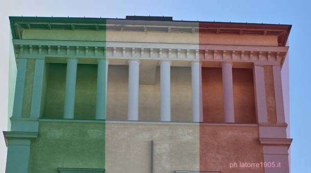 Coronavirus Torre del Greco, L'appello: coloriamo Palazzo Baronale con il Tricolore