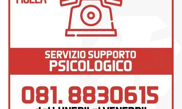 Coronavirus Torre del Greco, Attivo supporto psicologico telefonico