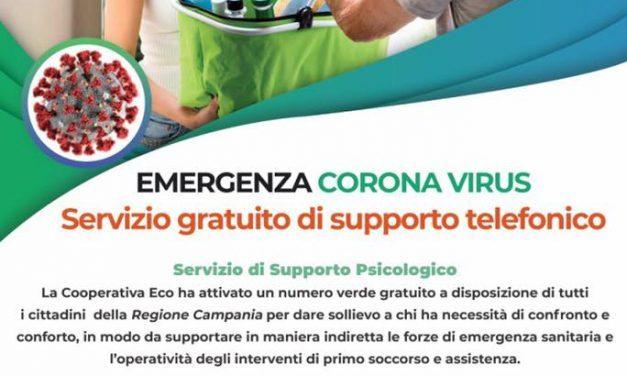 Coronavirus Torre Annunziata: (Ambito N30 T. Annunziata, Boscoreale, Boscotrecase, Trecase) Attivo numero verde per il sostegno psicologico ai cittadini