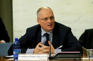 """Coronavirus, Walter Ricciardi (prof. d'Igiene e consulente Ministero Salute): """"Al centro  Italia e al sud manca la percezione del pericolo ma il virus sta scendendo…"""""""