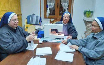 Il Vaticano ringrazia le suore dell'Arcidiocesi per la realizzazione delle mascherine