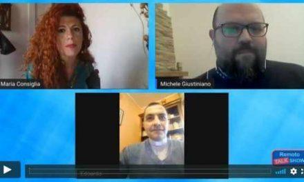 Remoto Talk Show: #iorestoacasa… La vita è diversa ma non si ferma! [VIDEO]