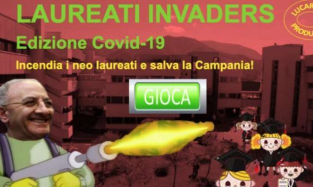 """De Luca e il """"suo"""" lanciafiamme diventano un Videogame: Ecco il link del gioco"""