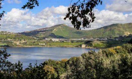 Tramonto sul lago d'Averno,visite per gruppi