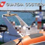 Gommone in avaria, salvata famiglia da Guardia Costiera