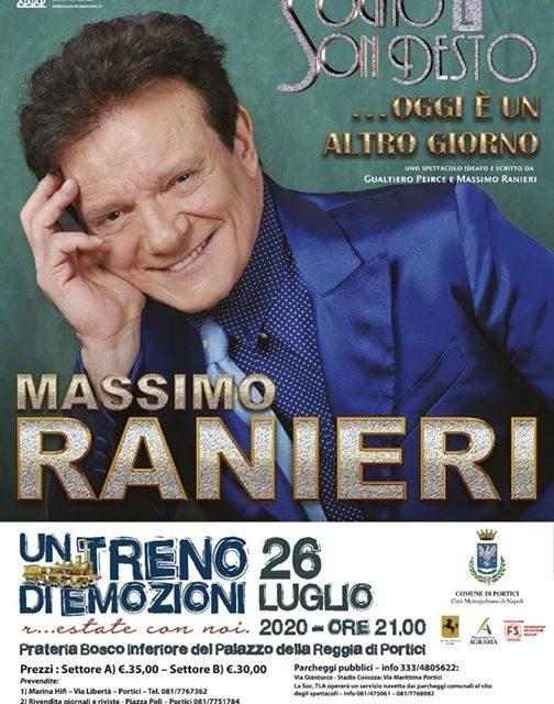 R…Estate a Portici, con Massimo Ranieri e Renzo Arbore 🗓