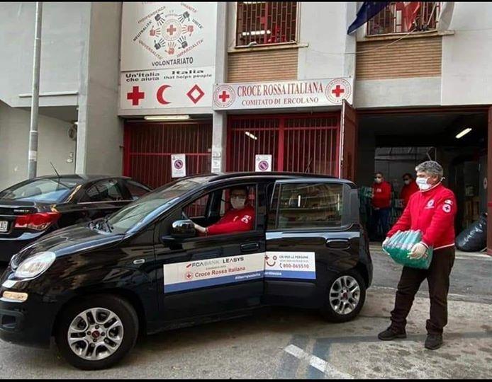 Ritrovata l'auto rubata alla Croce Rossa di Ercolano