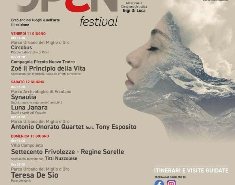OPEN FESTIVAL 'Ercolano nei luoghi e nell'Arte – edizione 2021
