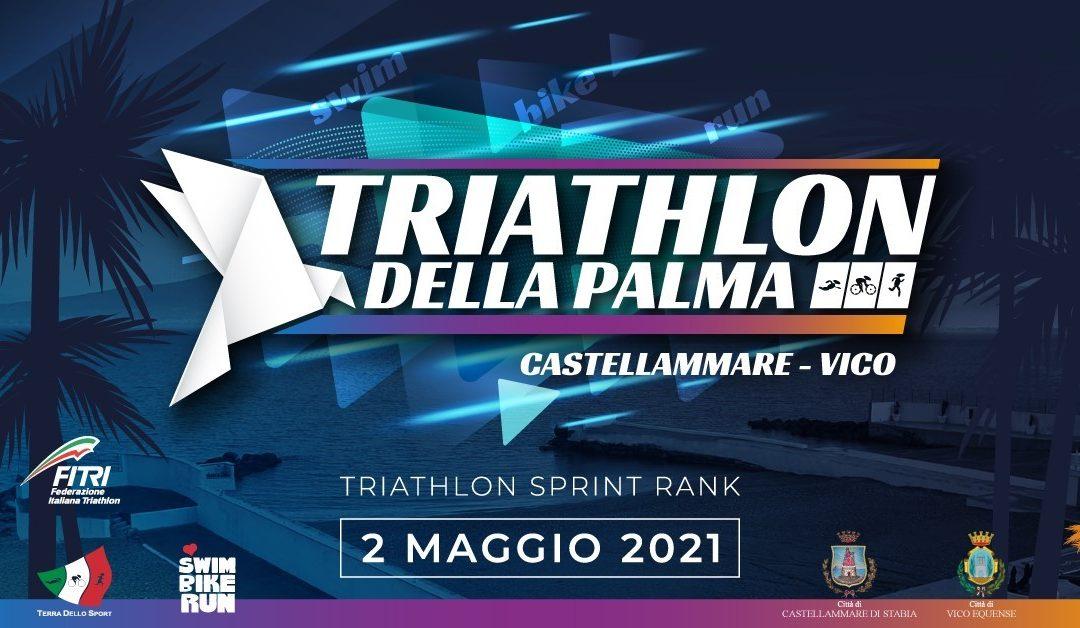 """«Triathlon delle Palme»: vince il napoletano, milanese d'adozione, Emanuele Faraco """"Riscatto la mia terra"""""""