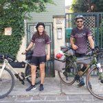 Da Carpi a Torre del Greco, 770 Km in bici: ecco l'avventura di Michele e Jlenia