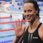 Federica Pellegrini a Napoli con l'International Swimming League