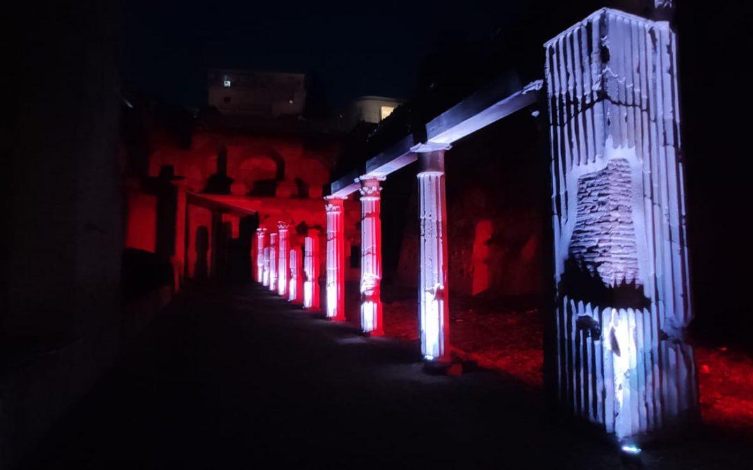 Ripartono I Venerdì di Ercolano, percorsi serali guidati al Parco Archeologico di Ercolano