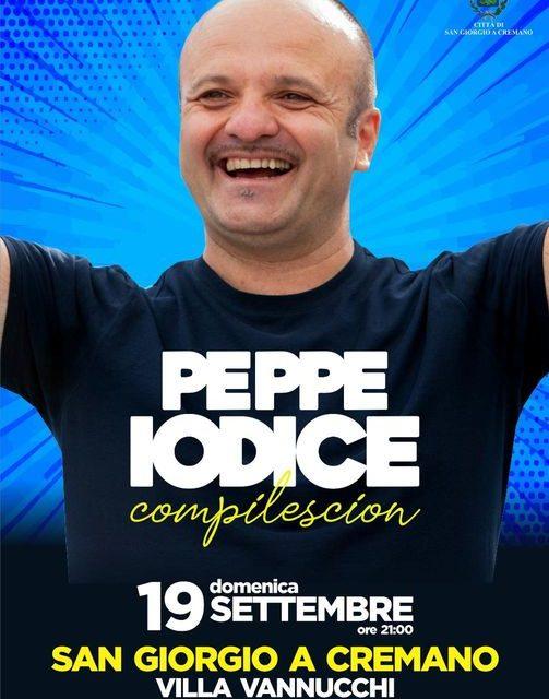 """C'è Peppe Iodice con il suo recital dal titolo """"Compilescion"""" a San Giorgio a Cremano 🗓"""