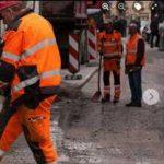 """Portici, Cuomo pubblica foto """"fake"""" per testimoniare lavori di manutenzione stradale"""