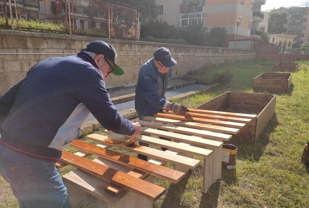 Orti sociali e campi di bocce. Work in progress per le associazioni di San Giorgio a Cremano