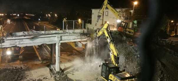 Demoliti i ponti di via Nuova Trecase e via Viuli