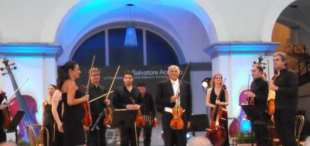 Memorabile performance del Maestro Salvatore Accardo