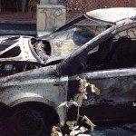 Incendiate due auto alla famiglia Caldarola