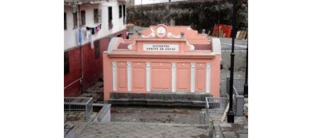 Inaugurazione Casa dell'acqua nella zona delle Cento Fontane