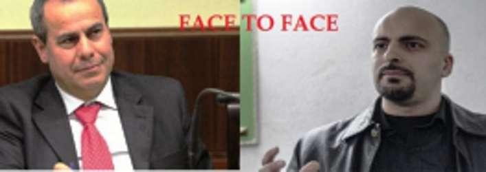 Confronto tra i candidati a sindaco Ciro Borriello e Giangomenico Maglione