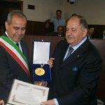 Cittadinanza onoraria conferita a ex-comandante Nicola Olivetta