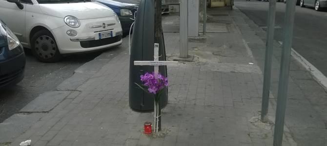 """La """"Via Crucis"""" di Forza Nuova"""