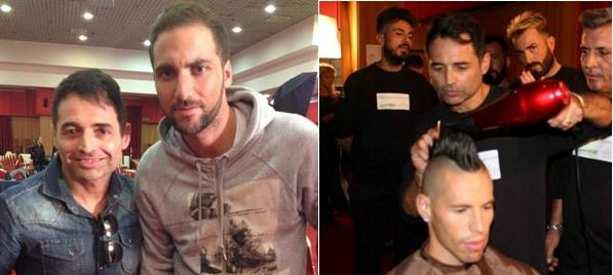 Un campione del look torrese tra i campioni del Napoli