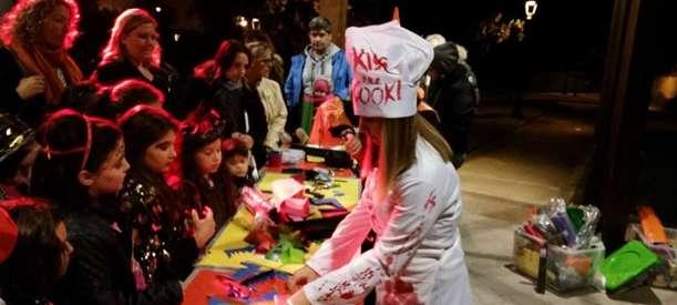 Halloween in Villa Comunale D'Acquisto: grande successo