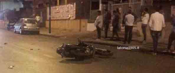 Violentissimo incidente paralizza Via Nazionale