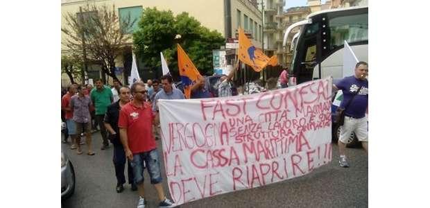 Mercoledì manifestazione a Roma dei marittimi