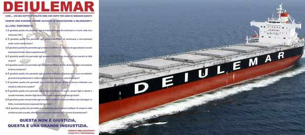 Dagli obbligazionisti Legalità e Trasparenza manifesti anti-Deiulemar