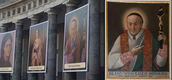 Papa Francesco a Napoli, Torre presente con il Beato Vincenzo Romano