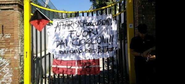 Chiusura parco Bottazzi, cittadino scrive al direttore dell'ASL