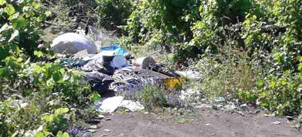 """Strade ricoperte di erbacce e di rifiuti, Il candidato sindaco Luigi Mele: """"È controproducente limitare il deposito dei rifiuti negli Eco punti dalle 17 alle 23"""""""