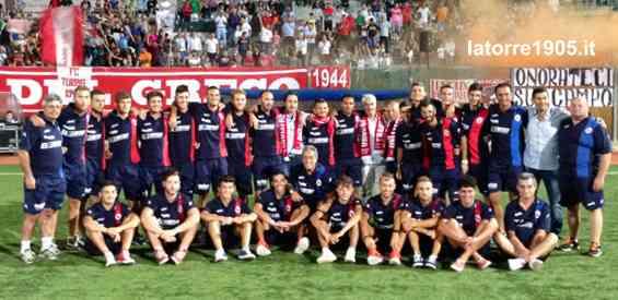 Coppa Italia, Turris, i convocati contro il Real Vico